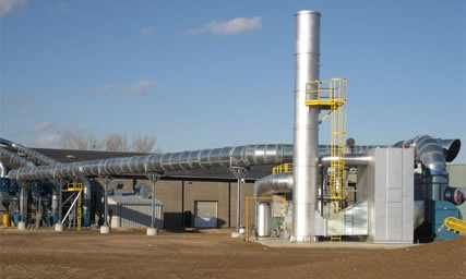 Rotary Concentrator Thermal Oxidizer