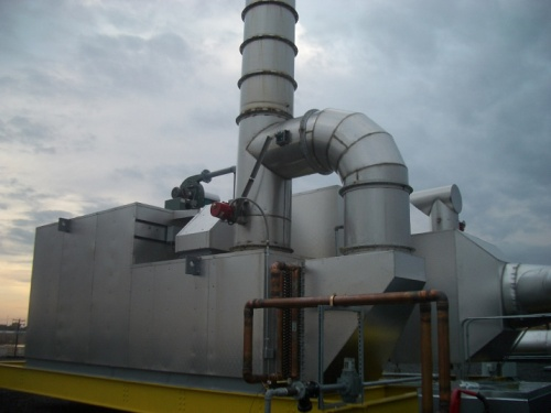 Recuperative-Catalytic-Oxidizer-Food-Industry
