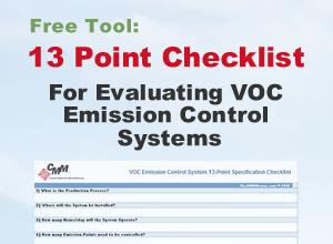 VOC Emission Control System