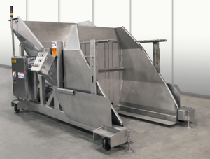 Tote Dumper-Food-Production-Machinery