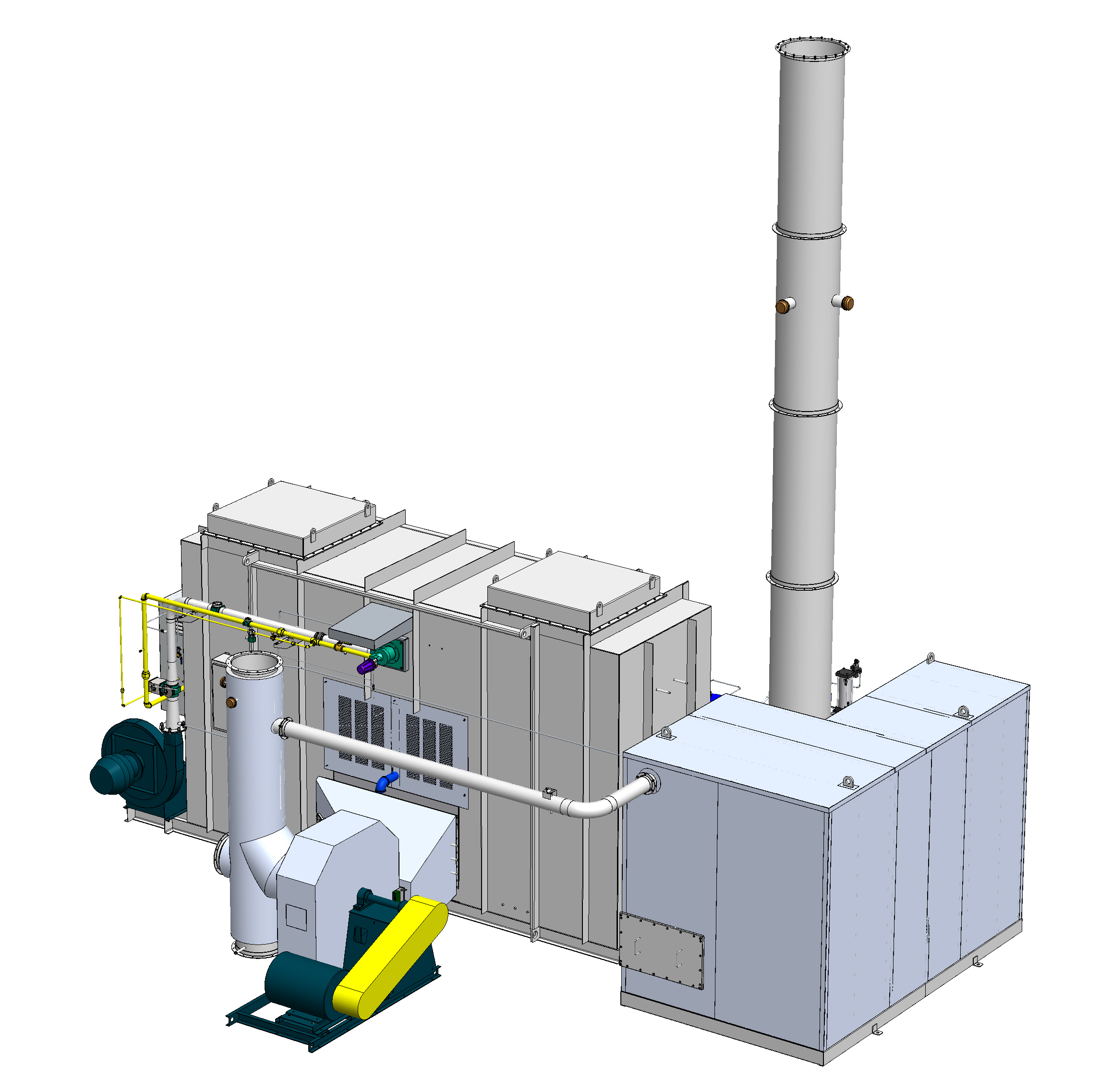 Used Regenerative Thermal Oxidizers