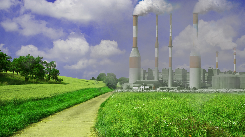Industrial operation releasing VOC emissions