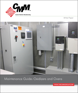 Maintenance Guide Oxidizers and Ovens
